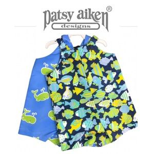 Patsy Aiken bundle 2 pc romper short baby size 2